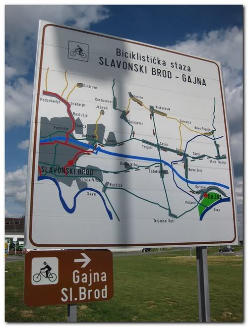 Biciklistička staza Slavonski Brod – Gajna