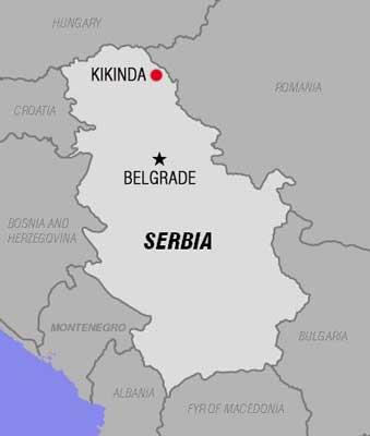 kikinda mapa srbije Danas je 27. april   Jimblog kikinda mapa srbije