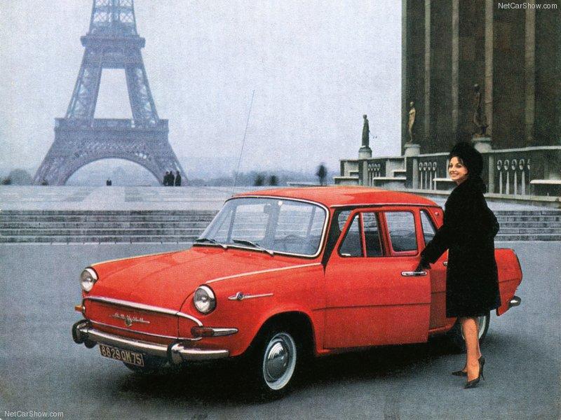 Tako vam je to izgledalo krajem 60-ih, čehoslovačka kola u Francuskoj