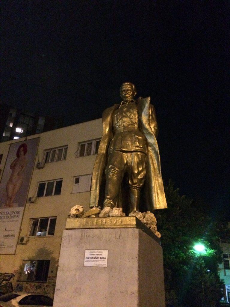 Famozni kumrovečki Joki Broki, postavljen 2013. u spomen na drugo zajedanje AVNOJA u Jajcu. Sve što nastane u Jajcu, zna se gdje kasnije završi.